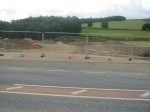 Fountainhall new road access looking looking South#1 11th August