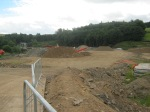 Fountainhall  new road access looking looking South #2 11th August