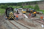 A busy scene at Whitrope with both platforms full and the Fowler in the stock siding.