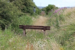 The buffer stop at the end of what was the Loanhead branch, latter used as the branch to Bilston Glen colliery.