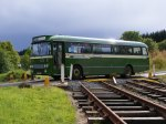 The bus that ran in association with Hawick model railway show, to allow people to visit both sites.