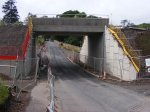 Underbridge UB011/080 at Bowland providing more headroom for road traffic than the old structure.