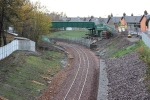 One of two new footbridges, this one being FB011/018B. This footbridge has both steps and ramped access on both sides.