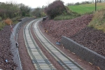 The view back towards Fushiebridge, again it is evident how much work has been done on the cutting sides.