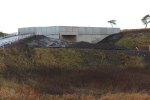 The new Cowbraehill OB011/041 over-bridge, which provides access to a farm.