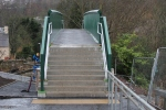 The new bridge at Plumtreehall Brae should be open to the public soon.