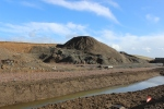 The quarry at Falahill which is now being landscaped.