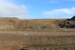 What a couple of months ago was a very busy quarry is now a much quieter scene.