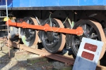 The area of focus for Davie at the moment is completing work on the coupling rods.
