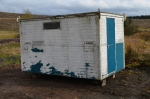Another new delivery, our recently acquired toilet block. This requires some work before it is ready for use, but will be a big improve on current arrangements.