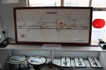 Part of the signalling display in the exhibition this year.