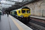 66528 stands in Edinburgh Waverley station.