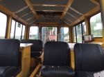 The inside of the new  trolley, which should provide better conditions for the pw gang.