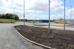 Most of the landscape work across the site is complete, with smaller tasks left to complete the station and environment.