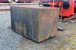 The large fuel tank which Jim and Duncan collected. This will be used to bund our existing fuel tank.