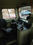 With outside work curtailed a start was made on tiding up inside the cab of the 26.