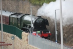 Flying Scotsman makes her way back up to Edinburgh. Hopefully it will not be too long before we see her return.