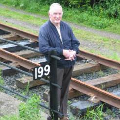 Bill Blake stands at Bridge 199 once again – June 2004